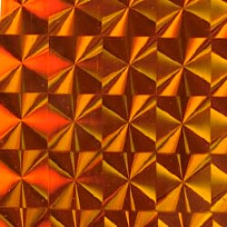 画像1: P7 プリズム オレンジ 600mm幅(メーター売り)