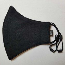 画像2: BLOCH  ソフトストレッチマスク【ブラック】レギュラーサイズ《 洗える抗菌マスク 》