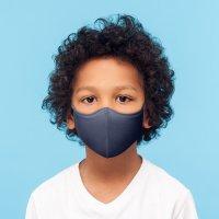 BLOCH ソフトストレッチマスク【ネイビー】スモールサイズ《 洗える抗菌マスク 》