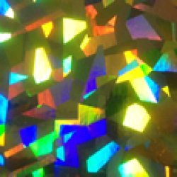 画像1: ホログラムフィルム K38 600mm幅(メーター売り)