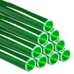 画像1: レインボースリーブ FL40W用 緑 10本セット