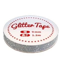 画像2: グリッターテープ GP02 ホワイト 9mm×1.2m