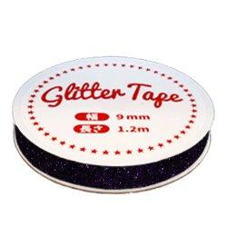 画像2: グリッターテープ GP06 ラベンダー 9mm×1.2m