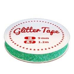 画像2: グリッターテープ GP19 ミントグリーン 9mm×1.2m
